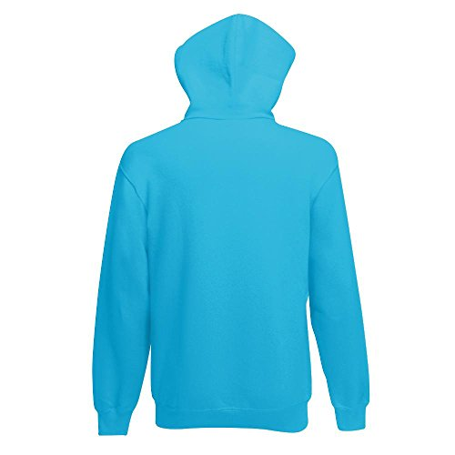 Fruit of the Loom - Kapuzen-Sweatshirt 'Hooded Sweat' M,Azure Blue - 3