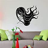 Finloveg Salon De Coiffure Salon De Coiffure Barbershop Diy Papier Peint Vinyle Home Decor Art Stickers Muraux 45X60 Cm