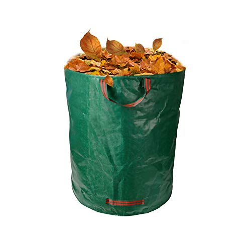 ZFW 2 Packungen - Gartentasche, Grassack Basket Leaf Umwelt Müllsack, aus umweltfreundlichen Materialien, sicher und langlebig (Wiederverwendbare Rasen-taschen)