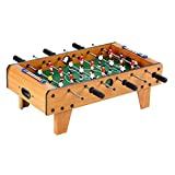 GetBest Foosball Table Top Soccer Game for Kids (6 Rods with Legs)