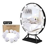 LED Spiegelleuchte Schminklicht für Schminkspiegel Badezimmer mit Dimmer Schalter 5 Stufen Dimmbares Spiegel Glühbirnen