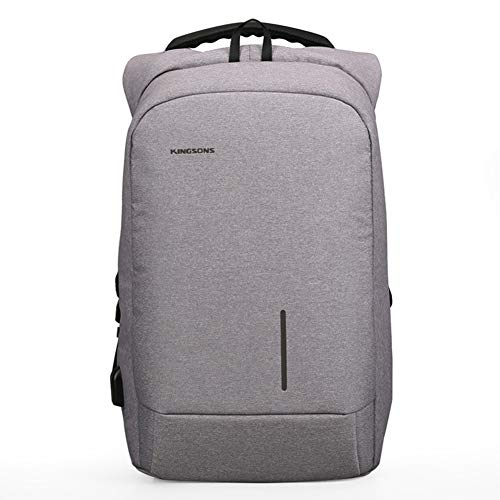 2372b91398 Kingsons TSA Customs Lock Moda Semplice Multiuso Antifurto Zaino da Uomo  Laptop Portatile Backpack con Porta