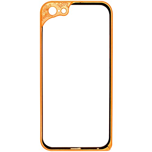 Casotec Metal Aluminium Bumper Frame Case for Apple iPhone 5s - Gold  available at amazon for Rs.475