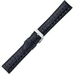 Eichmüller Chrono Watch Strap Atmugsaktiv Hook 22 mm