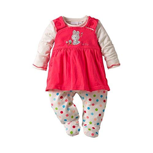 BORNINO 2tlg. Strampler-Set Baby Baby-Set, Größe 62/68, mehrfarbig
