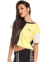 Grimey Camiseta Chica Mangusta V8 Half Crop Top SS18 Black
