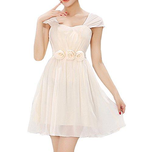 LaoZan Robe courte lace avec une variété de styles parfait pour demoiselle d'honneur Couleur1
