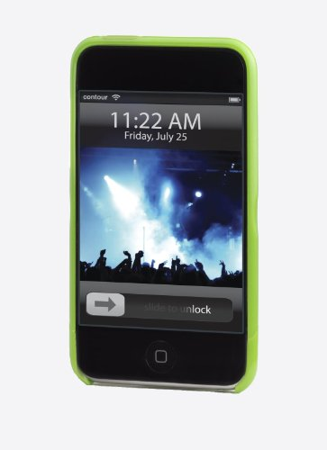Flick Kunststoffgehäuse für iPod touch 2G/3G - grün