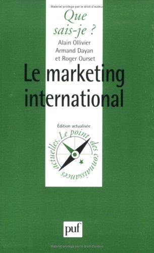Le Marketing international