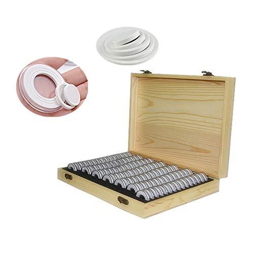 Dough.Q - Cápsulas para Monedas (100 Unidades) 5 tamaños (18/21/25/2