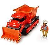 #1018 Bob der Baumeister Leo Figur inklusive Buddel mit Sprachfunktion • Spielzeug Fahrzeuge Set Sound Bagger