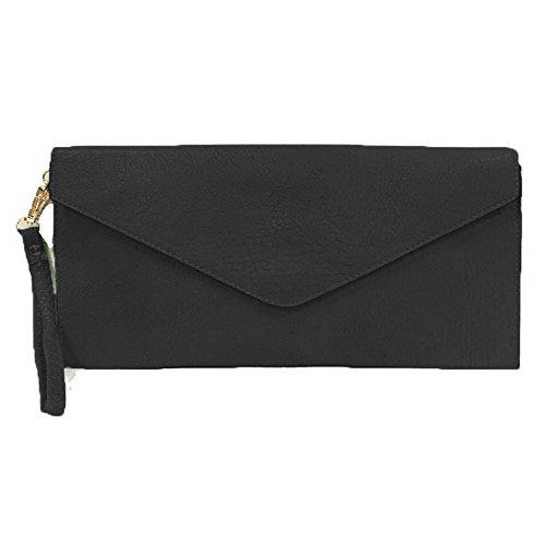 Damen Tasche Mädchen Clutch Bag Handtasche Party Hochzeit Abendtasche Tasche Handschlaufe (Purse Bag Sling)