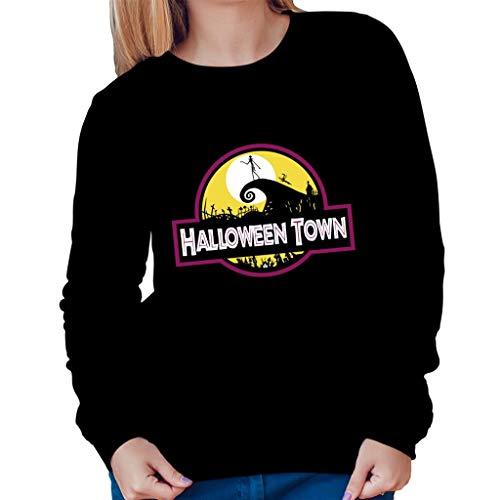 TeeTrumpet Halloween Town Nightmare Before Christmas Park Women's Sweatshirt