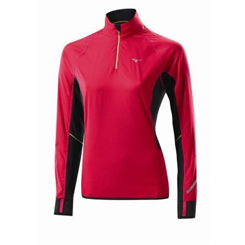 Windtop (Mizuno Women Breath Thermo Windtop Laufshirt 77SP35264)
