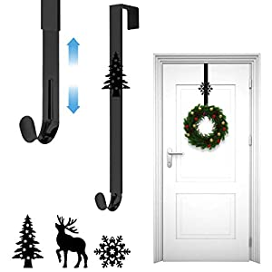 Xiangmall Ajustable Colgador Puerta Navidad