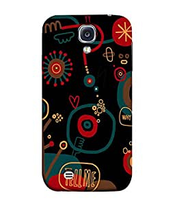 PrintVisa Designer Back Case Cover for Samsung Galaxy S4 Mini I9195I :: Samsung I9190 Galaxy S4 Mini :: Samsung I9190 Galaxy S Iv Mini :: Samsung I9190 Galaxy S4 Mini Duos :: Samsung Galaxy S4 Mini Plus (What I am thinking Circular pattern)