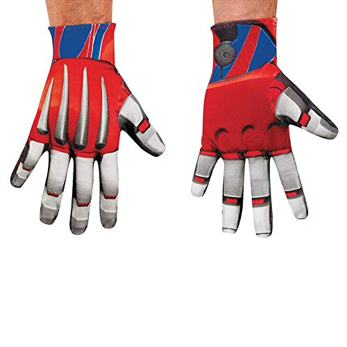 Age Of Extinction Transformers Optimus Prime Adult Costume Gloves (Transformers Bumblebee Erwachsene Kostüme)