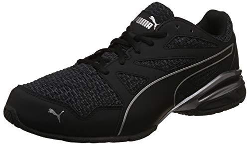 Puma Men's Black-Iron Gate Aged Silver Running Shoes - 9 UK/India (43 EU)(4059506427381)