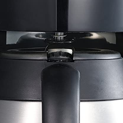 Severin-KA-4141-Kaffeeautomat-mit-Edelstahl-Thermokanne-und-TimerSelectschwarz-Edelstahl-gebrstet-Zertifiziert-und-Generalberholt