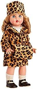 Mariquita Pérez Conj.Abrigo Leopardo Muñeca, Color Carne (Comercial de Juguetes Maripe SL 1)