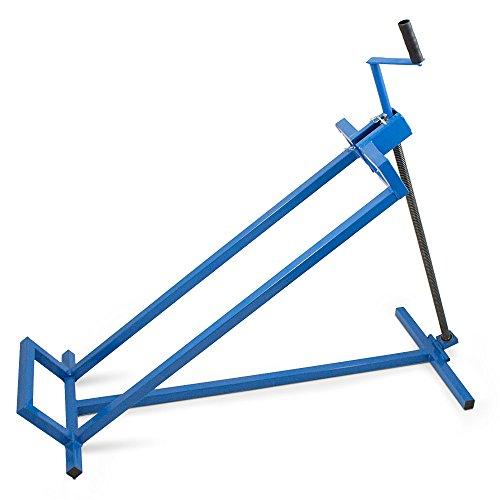 BITUXX® Hebevorrichtung Reinigungshilfe Rasentraktor-Heber Aufsitzmäher Mowerlifter 400kg Belastung +40° Neigung +100cm Auffahrbreite