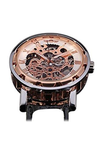 Reloj de hombre - winner Clasico Reloj de pulsera Mecanico de hombre Oro de rosa