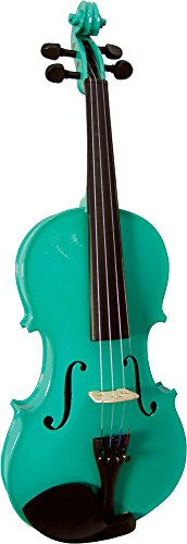 BLUE MOON BV 102G4   SET DE VIOLIN (TAMAÑO 4/4)  COLOR VERDE