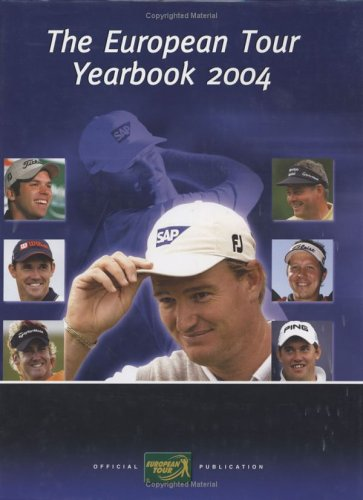 European Tour Yearbook 2004 (Golf)