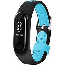 d1d6b57f5eeb DIPOLA Reemplace Ventilate Sport Muñequera para Xiaomi Mi Band 3 con Correa  de Reloj Suave
