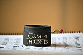 SPIELUHR GAME OF THRONES GOT MIT DER MELODIE DER BERÜHMTEN SERIE. Ideal als Geschenk für die Fans dieser bekannten Serie. Musik Box