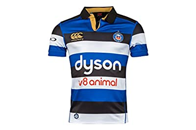 Canterbury Bath Official 17/18 Men's Short Sleeve Home Pro Jersey from Canterbury