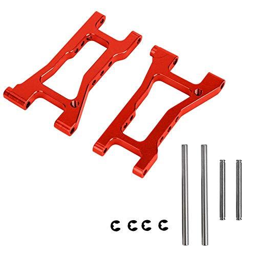 Woyisisi RC Querlenker, Hinterer unterer Querlenker Ersatzteil passend f¨¹r HPI RS4 1/10 RC Car, 2 Farben(Rot (RS4005R))