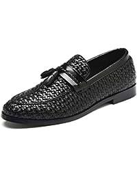 NXY pour des Hommes Mode Gland Flâneur Cuir Décontractée Chaussures de  Conduite Glisser ... 561cf4f3f58