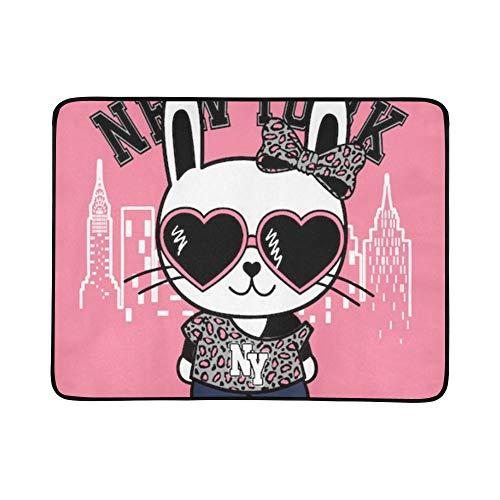 Gekleidet Bunny - WYYWCY Nette Zeichentrickfilm-Figur T-Shirt Muster tragbare