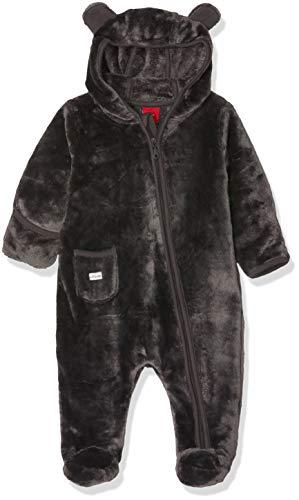 s.Oliver Junior Unisex Baby 65.810.85.2711 Spieler, Grau (Dark Grey 9858), 62