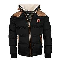 Geographical Norway Warme winterjas designer heren winter gewatteerde jas