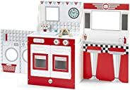 Plum 3 in 1 Cabin Wooden Kitchen, Diner Theatre Set
