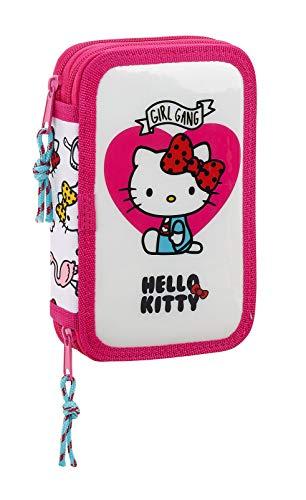Hello Kitty Sanrio Estuche con 28 Piezas, (SAFTA 411816854)