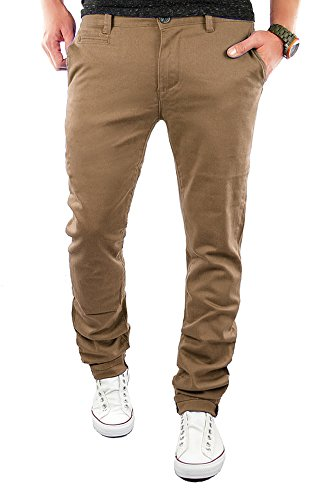 Merish Chino Slim Fit Hose Jeans 6 Farben Neu 68