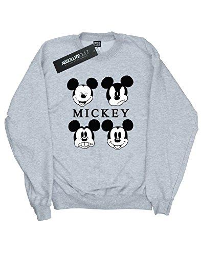 Disney hombre Mickey Mouse Four Heads Camisa De Entrenamiento