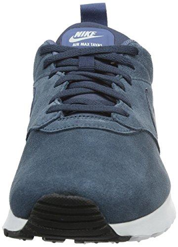 Nike - Air Max Tavas LTR, Scarpe da ginnastica Uomo Blau (Squadron Blue/Squadron Blue Ocean Fog-White)