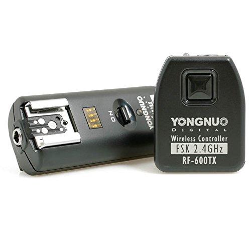 100m Blitz- und Funkfernauslöser Yongnuo RF-602 für Canon