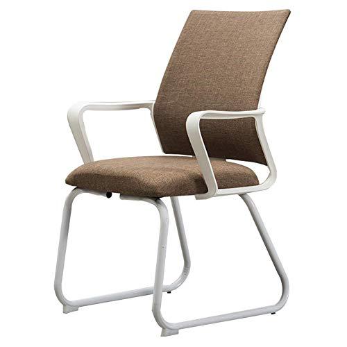 Haushaltsstuhl Multifunktions mit Handlauf Stahlrahmen Gebogene Rückenlehne Atmungsaktiver Schwamm Büro Lounge Chair ghk/A