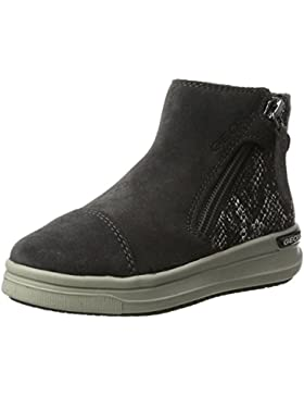 Geox J Aveup B, Zapatillas Altas para Niñas