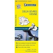 Carte Deux-Sèvres, Vienne Michelin de Collectif Michelin ( 1 avril 2015 )