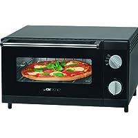 Clatronic 261708 Horno sobremesa Especial para Pizza, Capacidad 12 l, 1000 W