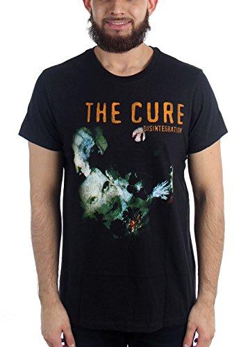 Générique The Cure - Désintégration T-Shirt Vintage Homme, Medium, Black