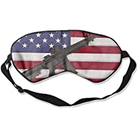 Gun American Flag 99% Eyeshade Blinders Sleeping Eye Patch Eye Mask Blindfold For Travel Insomnia Meditation preisvergleich bei billige-tabletten.eu