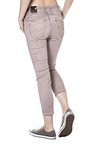 Blue Monkey Damen 7/8 Jeans Charlotte 3771 Rose Rosè