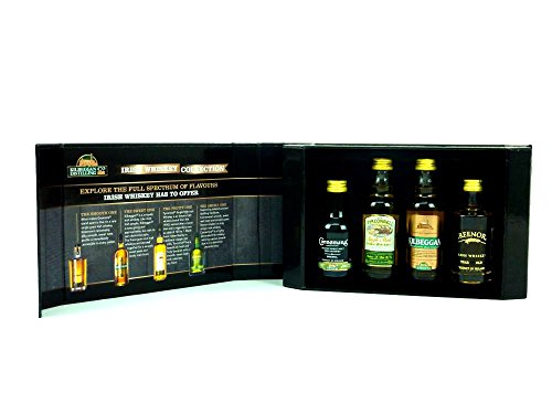 Cooley's Mini Collection Irish Whiskey 40% 4x 0,05L